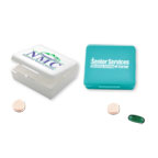 Promotional Pill Boxes - Four-A-Day Pill Box