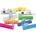 Promotional Pill Boxes - All-Week Pill Box - 6""