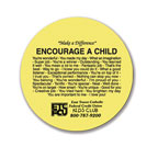 Promotional Jar Openers - Encourage A Child Circle Jar Opener