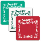 Promotional Jar Openers - Happy Holidays Stock Jar Opener