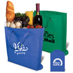 Promotional Totes and Bags - New World Foldable Non-Woven Tote