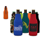 Promotional Drinkware - Zipper Bottle Cooler