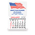promotional Calendars - Econo Stick Calendar - Flag