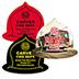 promotional Jar Openers - Fire Helmet Jar Opener