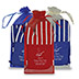 promotional Kitchen Products - Chef's Therma-Grip Striped Oven Mitt Striped Apron Combo