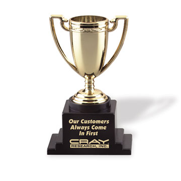 Always-A-Winner Trophy Cup (Gold)