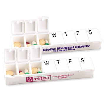 Carry Along All-Week Pill Box