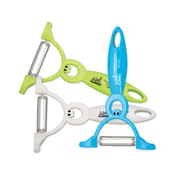 Kuzil Krazy Stand-up Vegetable Peeler
